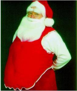 Santa Suit Stuffer Belly