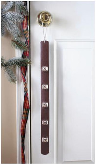 Jingle Bell Strap Leather