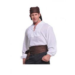 Cream Pirate Shirt - Plus Size