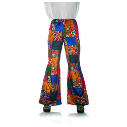 70s Patchwork Bell Bottoms