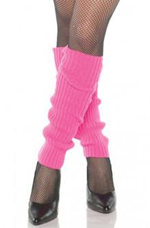Neon Pink Leg Warmers
