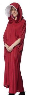 Hand Maiden Cloak & Bonnet Costume