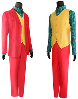 Joker Carnival the Sad Clown 4PC Joker Costume Set