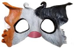 Fancy White Cat Mask