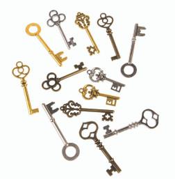Bag of Steampunk Keys
