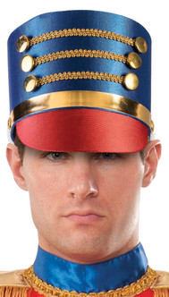 Blue Toy Soldier Hat - Adult Size