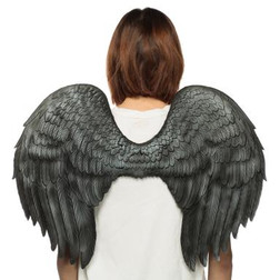 Supersoft Angel Wings - Black or White