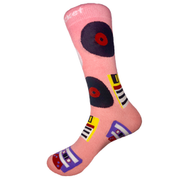 Outdated Media Socks - Adult Size 7 - 13