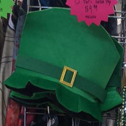 St. Patrick's Day Foam Top Hat