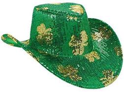 St. Patrick's Day Cowboy Hat