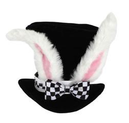 White Rabbit Topper Top Hat