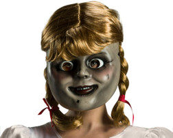 Annabelle Doll Mask With Wig