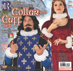 Medieval Renaissance Collar and Cuff Set