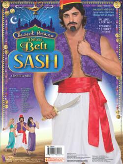 Desert Prince Aladdin Red Sash