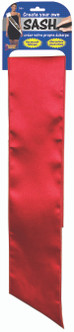 Red Do-It-Yourself Sash
