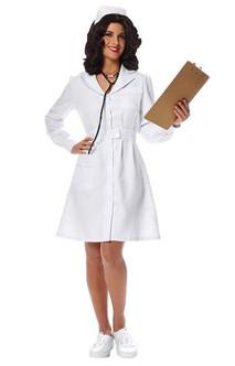 Adult  Vintage Nurse Costume