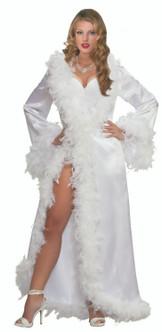 40s Hollywood Style Satin Robe