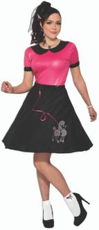 50s Girl Poodle Skirt Costume