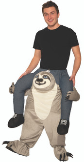 Ride a Sloth Ride-On Costume