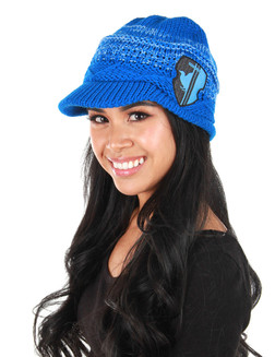 Harry Potter Licensed Ravenclaw Knit Brim Cap at The Costume Shoppe