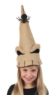 Disney Nightmare Before Christmas Oogie Boogie Santa Plush Hat at The Costume Shoppe