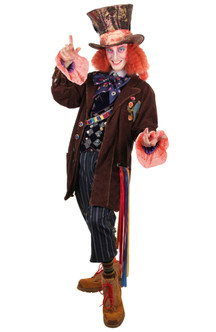Disney Alice Through the Looking Glass Mad Hatter Tea Party Replica Jacket at The Costume Shoppe