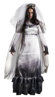 The Curse of La Llorona Womens La Llorona Ghost Bride Costume at The Costume Shoppe