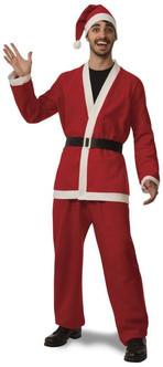 Promo Flannel Santa Suit XXXL Size