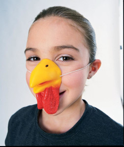 Chicken or Rooster Nose Accessory