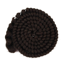 Graftobian Crepe Hair - Dark Brown
