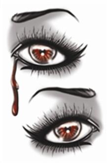 Evil Eye Temporary Tattoos