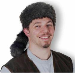 Davey Crockett Raccoon Hat