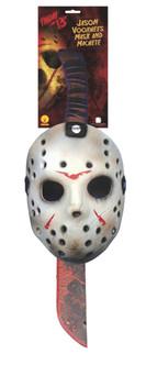 Friday the 13th Jason Mask & Machete