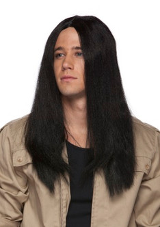 20 Inch Long Parted Wig