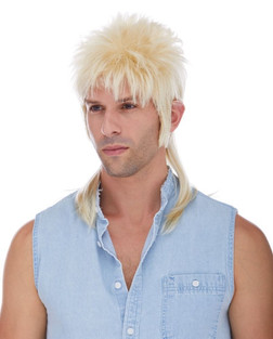 80s Mullet Wig - In Multiple Colours