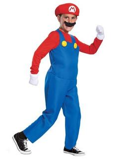 Children's Super Mario 2019 DLX Costume