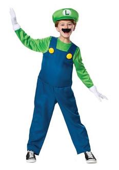 Children's Luigi 2019 DLX Costume