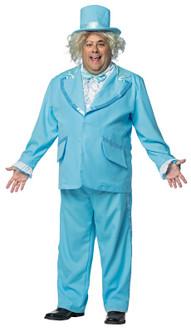 Plus Dumb and Dumber Blue Tuxedo Costume - At The Costume Shoppe
