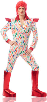 80s Stardust Space Superstar Costume - At The Costume Shoppe