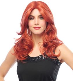 Ginger Diva Spice Singer Wig - At The Costume Shoppe