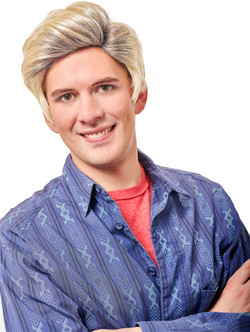 Preppy Blonde Valley Wig - At The Costume Shoppe