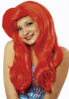 Mermaid Ariel Child Wig - At The Costume Shoppe