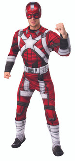 Deluxe Red Guardian - At The Costume Shoppe