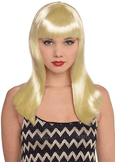 Blonde Electra Wig - At The Costume Shoppe