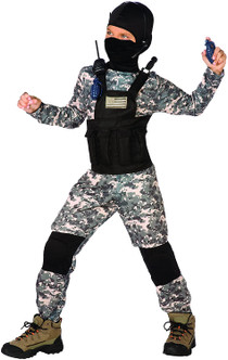 Childrens Navy Seal Camo costume - At The Costume Shoppe