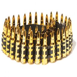 Chrome Bullet Belt - At The Costume Shoppe