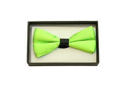 Bowtie In A Box Lime Green at the Costume Shoppe