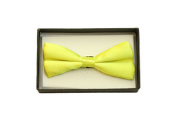 Bowtie In A Box Yellow at the Costume Shoppe