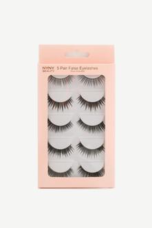 Eyelash 5 Pack Natural