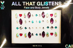Peel and Stick Face and Body Jewels at The Costume Shoppe